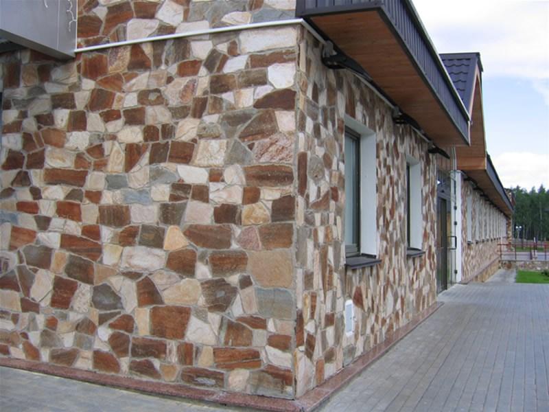 Камень фасадный
